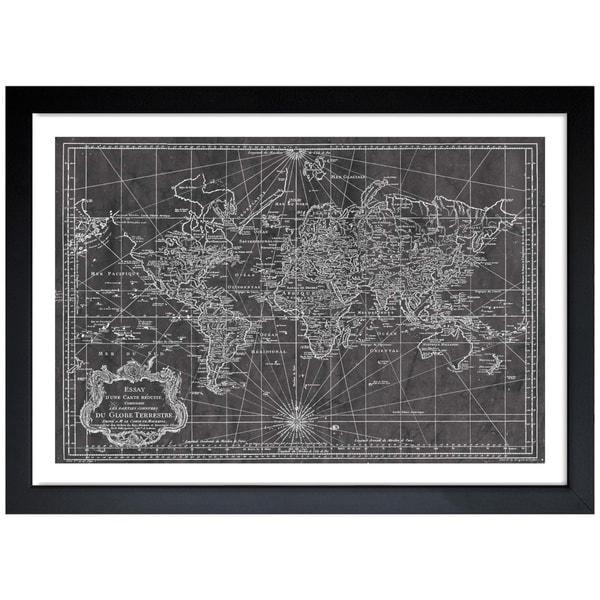 Oliver gal world map 1778 framed art print free shipping today oliver gal x27world map 1778x27 framed art print gumiabroncs Gallery