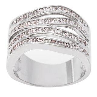 Simon Frank 'Bell Luminere' Beautiful Light 4-Row Stackable CZ Band