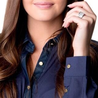 Simon Frank 'Belle Luminere' Beautiful Light CZ Elite Pave Fashion Ring