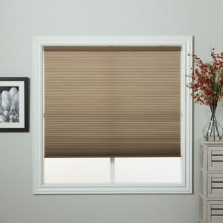 Arlo Blinds Honeycomb Cell Light-filtering Cocoa Cordless Cellular Shade