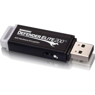 Kanguru Defender Elite200 Hardware Encrypted Secure USB Flash Drive F