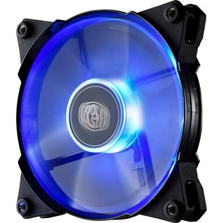 Cooler Master JetFlo 120 - POM Bearing 120mm Blue LED High Performanc
