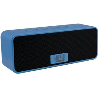 Adesso Xtream S2L Speaker System - Battery Rechargeable - Wireless Sp