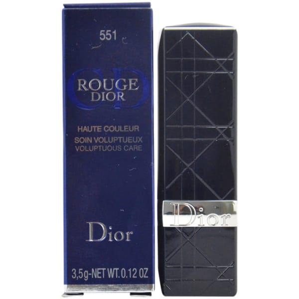 Dior Rouge Dior Voluptuous Care #551 Pink Cocotte Lip Color