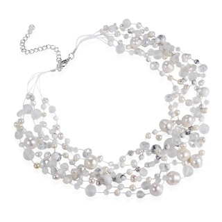Classy Cascades of Freshwater Pearls Necklace (Thailand)