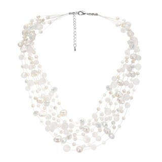 Handmade Classy Cascades of Freshwater Pearls Necklace (Thailand)|https://ak1.ostkcdn.com/images/products/8711457/Classy-Cascades-of-Freshwater-Pearls-Necklace-Thailand-P15960878.jpg?_ostk_perf_=percv&impolicy=medium