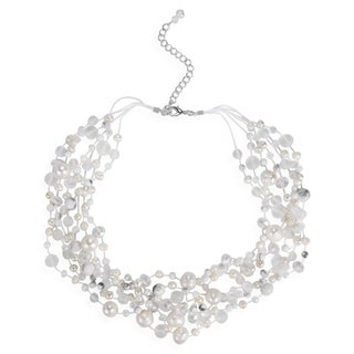 Handmade Classy Cascades of Freshwater Pearls Necklace (Thailand) (3 options available)