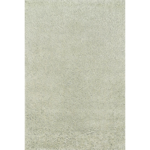 Hand-tufted Dream Sage Shag Rug (5'0 x 7'6)