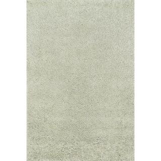 Hand-tufted Dream Sage Shag Rug (5'0 x 7'6)
