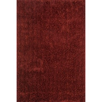 "Hand-tufted Dream Red Shag Rug (3'6 x 5'6) - 3'6"" x 5'6"""