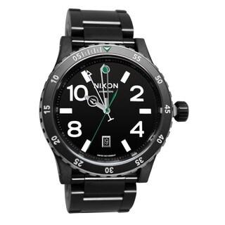 Nixon Men's Diplomat Stainless Steel Black Automatic Watch
