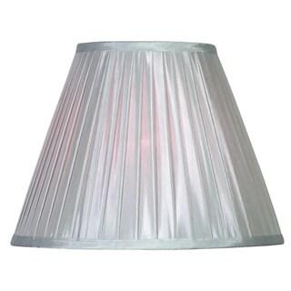 Design Match 15-inch Silver Soft Pleat Shade