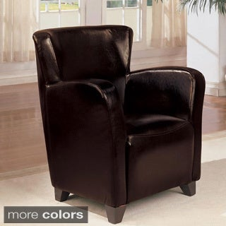 Ringo Brown Wing Accent Chair