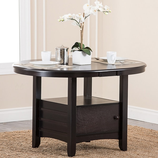 Abbyson Living Sorrento Espresso Dining Table