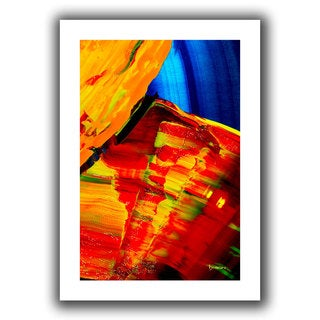 Byron May 'Going With The Flow' Unwrapped Canvas Wall Art