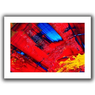 Byron May 'Passionate Explosion' Unwrapped Canvas Wall Art