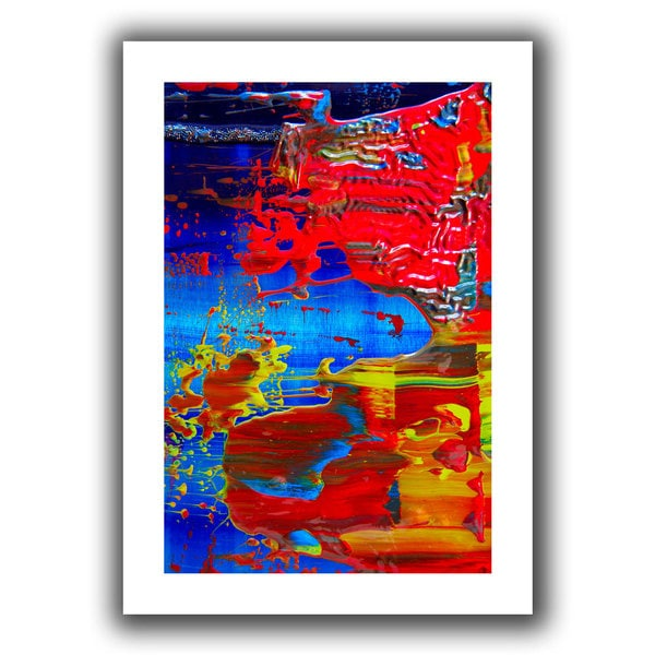 Byron May 'The Abstract Storm' Unwrapped Canvas Wall Art