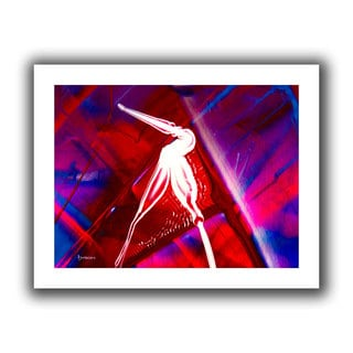 Byron May 'The Pelican' Unwrapped Canvas Wall Art