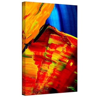 Byron May 'Going With The Flow' Gallery-wrapped Canvas Wall Art