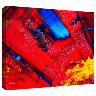 Byron May 'Passionate Explosion' Gallery-wrapped Canvas Wall Art