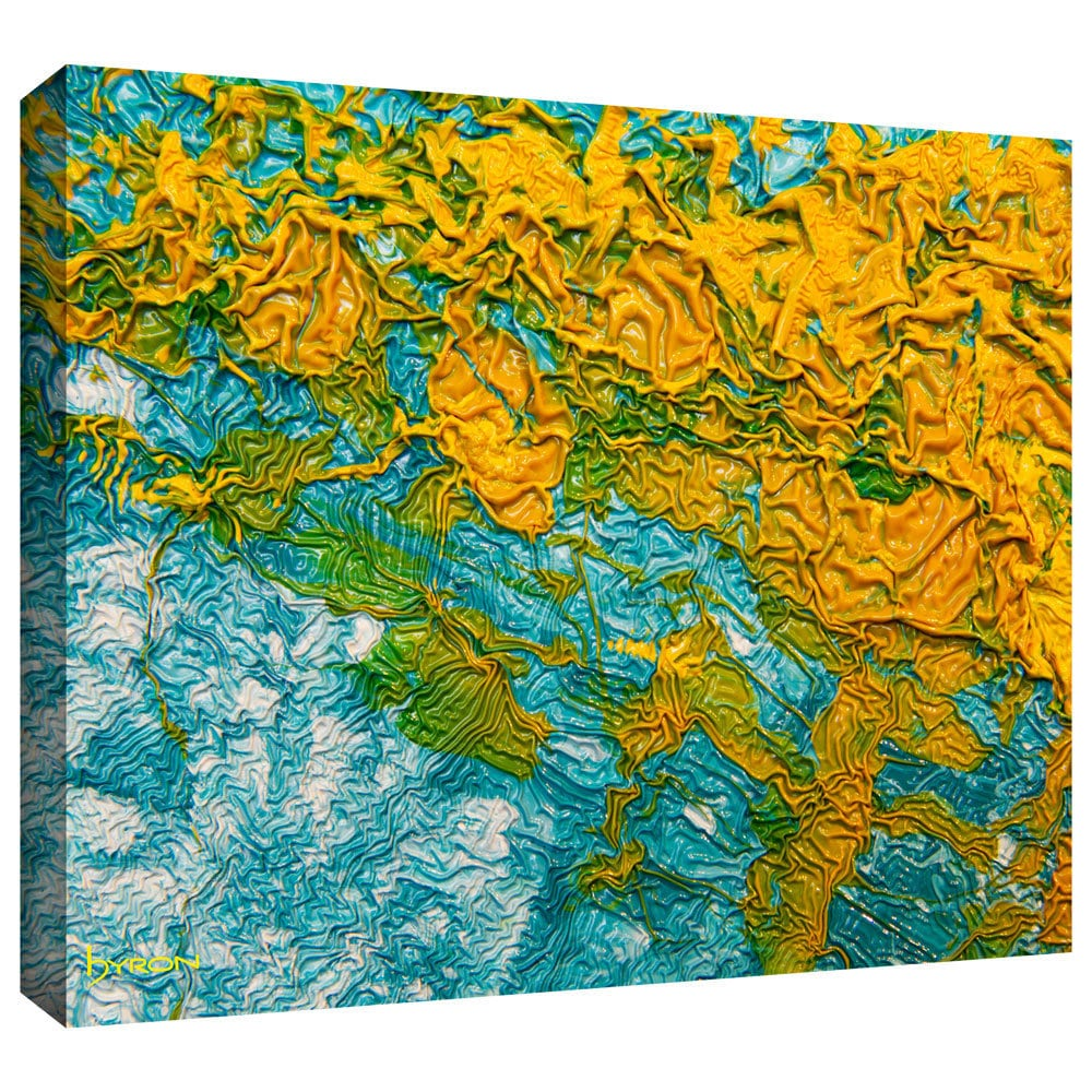 Byron May \'summer Breeze\' Gallery-wrapped Canvas Wall Art 08x10   eBay