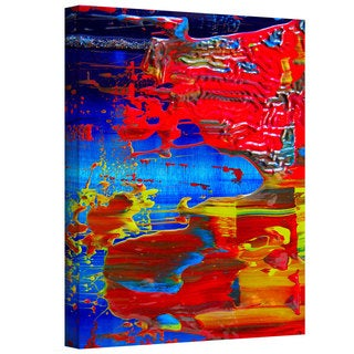 Byron May 'The Abstract Storm' Gallery-wrapped Canvas Wall Art