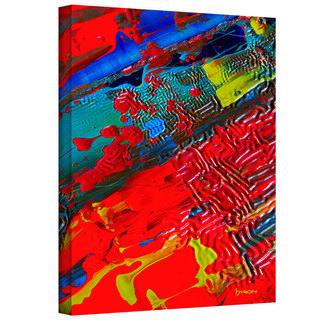 Byron May 'The Land of Isle' Gallery-wrapped Canvas Wall Art