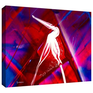 Byron May 'The Pelican' Gallery-wrapped Canvas Wall Art