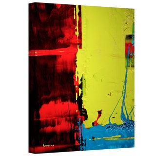 Byron May 'Turbulent Times' Gallery-wrapped Canvas Wall Art