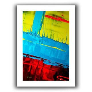 Byron May 'Boundaries' Unwrapped Canvas Wall Art