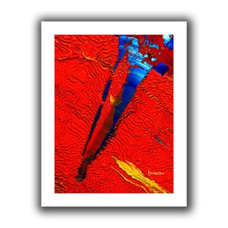 Byron May 'Forbidden Paradise' Unwrapped Canvas Wall Art