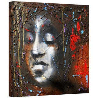 Susi Franco 'Last Thoughts' Gallery-wrapped Canvas Wall Art