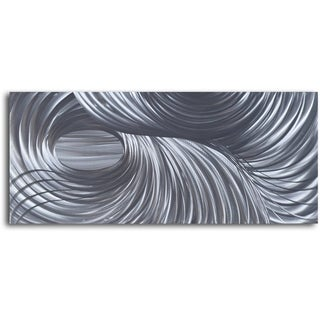 'Eye of the Storm' Handcrafted Metal Wall Art Piece
