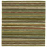 Scarlett Multi Stripes Hand-Tufted Rug - 9'9 x 9'9