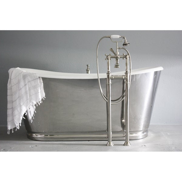 39 the lindisfarne 39 from penhaglion 68 inch cast iron french for Waterworks copper tub