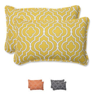 Pillow Perfect Outdoor Starlet Rectangular Throw Pillow (Set of 2)