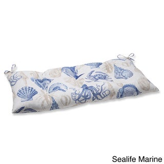 Pillow Perfect Outdoor/ Indoor Sealife Marine Swing/ Bench Cushion