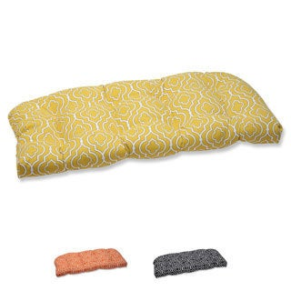 Pillow Perfect 'Starlet' Outdoor Wicker Loveseat Cushion