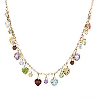 14k Yellow Gold Multi-gemstone Rope Necklace https://ak1.ostkcdn.com/images/products/8712579/P15961807.jpg?impolicy=medium