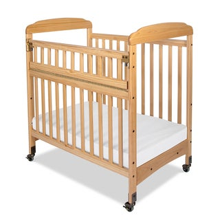 Bella Professional Child Care SafeAccess Clearview Ends Compact Crib in Natural