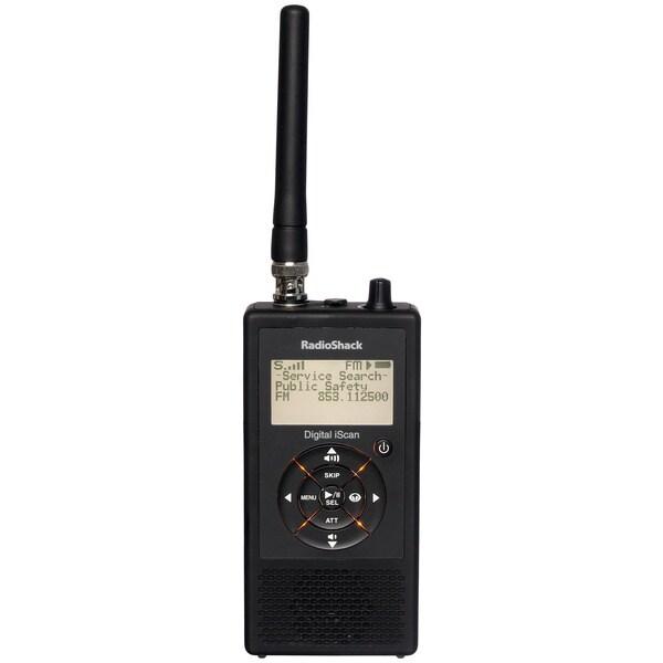 Shop Radio Shack Pro-18 iScan Black Handheld Digital