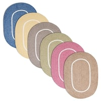 Haven Braided Reversible Oval Rug