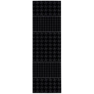 Joseph Abboud Griffith Charcoal Area Rug by Nourison (2'3 x 7'5)