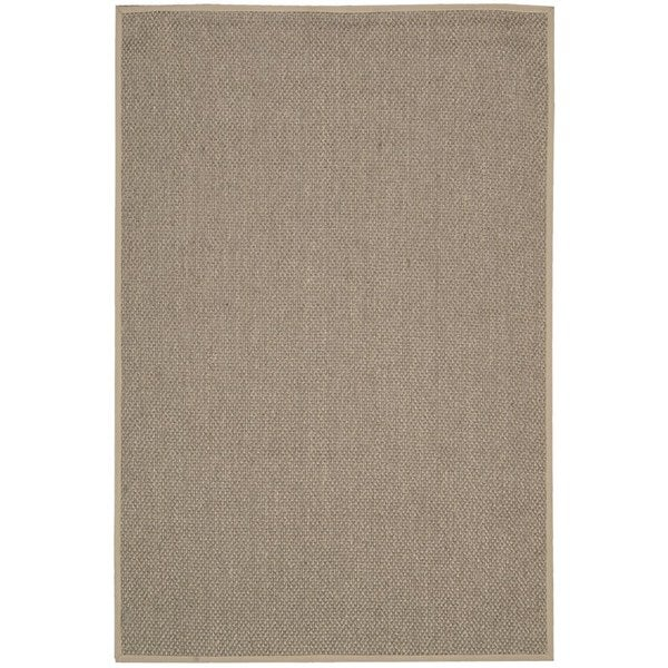 Calvin Klein Kerala Taupe Area Rug by Nourison - 9' x 12'