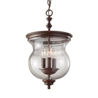 Feiss 3-light Heritage Bronze Semi-flush Mount