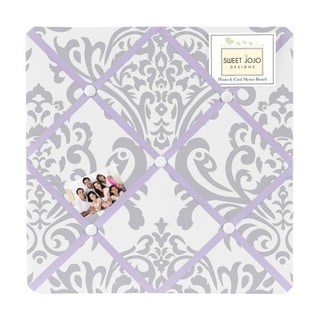 Sweet Jojo Designs Elizabeth Fabric Photo Bulletin Board