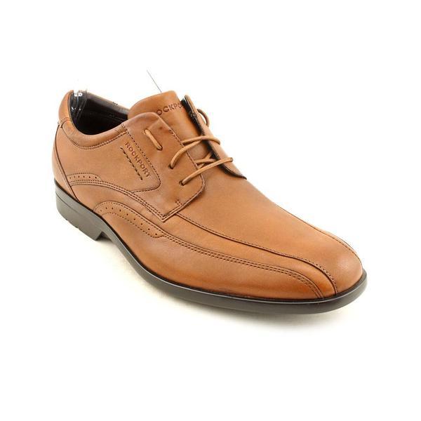 dfb265c6dcc12f Shop Rockport Men s  Business Lite Bike Front  Leather Dress Shoes ...