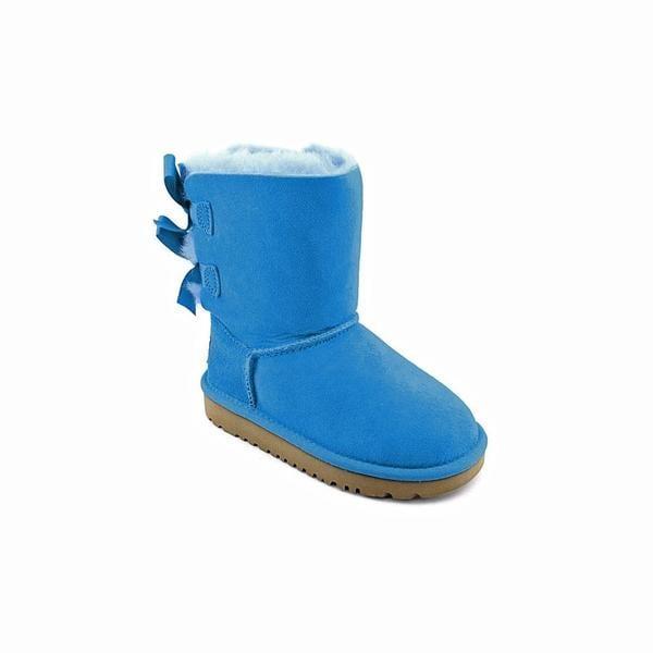 18c74eaf33d Shop Ugg Australia Girl (Toddler) 'Bailey Bow' Regular Suede Boots ...
