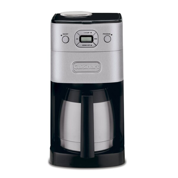 Cuisinart DGB-650BCFR Brushed Stainless 10-Cup Grind-and-Brew Thermal Automatic Coffeemaker (Refurbished)
