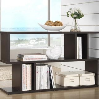 Modern Dark Brown Shelf by Baxton Studio